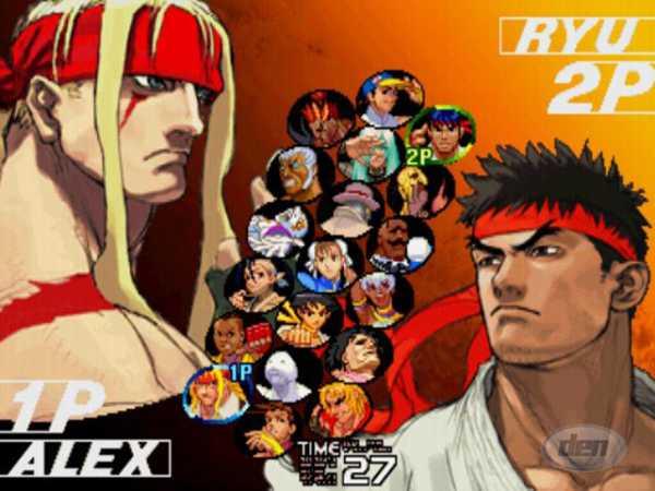 Street Fighter III Series