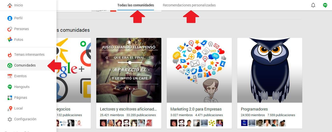 compartir los articulos de mi blog en comunidades o grupos de redes sociales