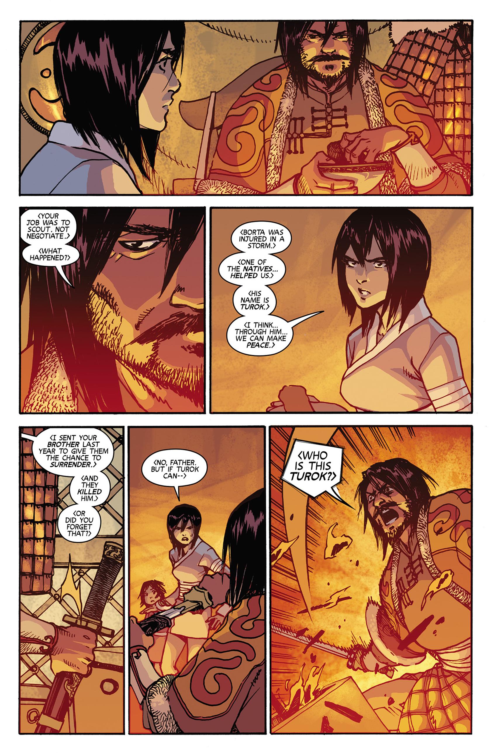 Read online Turok: Dinosaur Hunter (2014) comic -  Issue #7 - 13