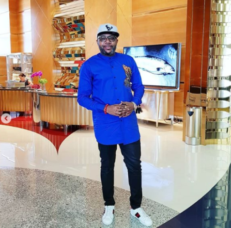 This is Nigeria, falz, E money emeka Okonkwo, lindaikeji, E-Money rocks three billion outfit as posses at Radisson Blu Hotel Dubai