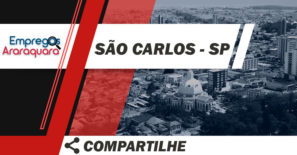 Recepcionista Bilíngue / São Carlos - SP / Cód. 3477