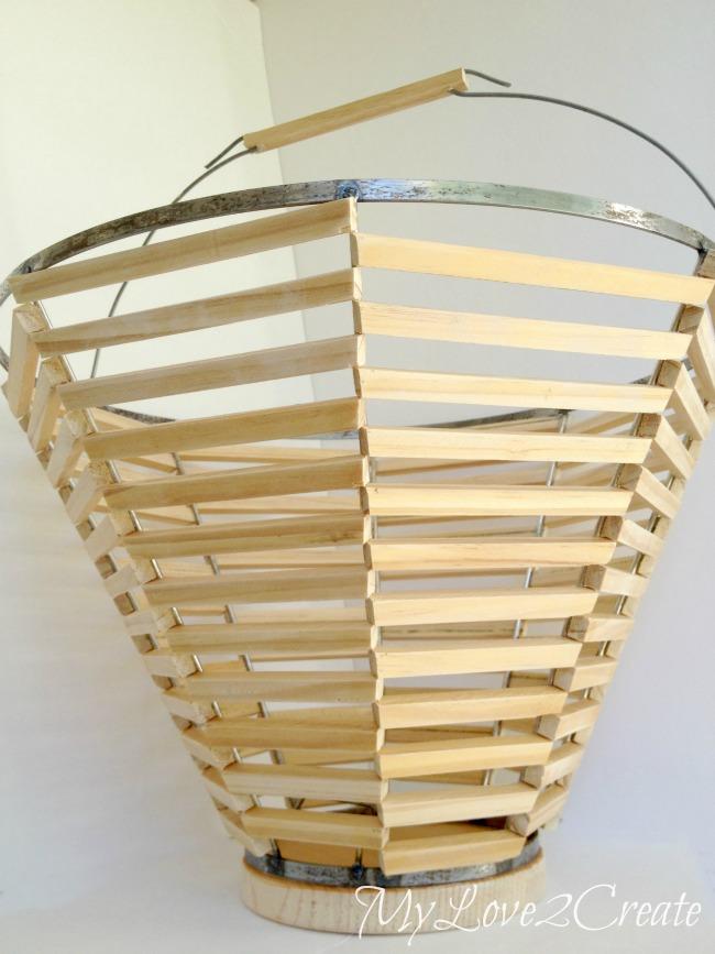 Salvage Style, Lamp Shade Basket