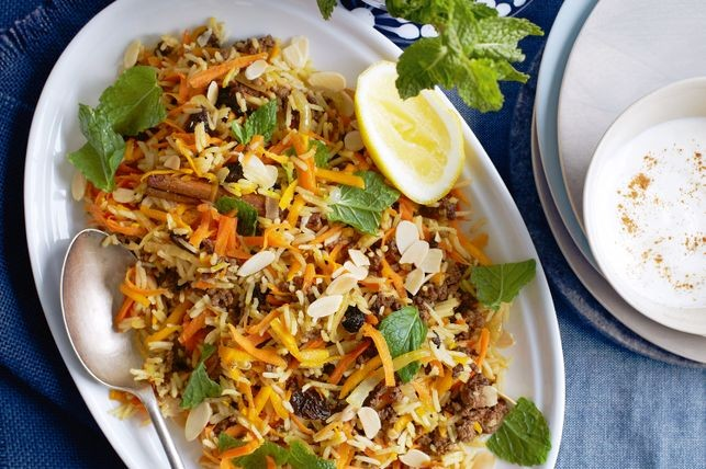 Persian-style lamb pilaf recipe