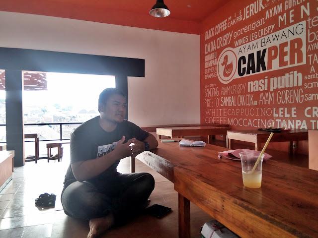 Marketing Manager Ayam Bawang Cak Per