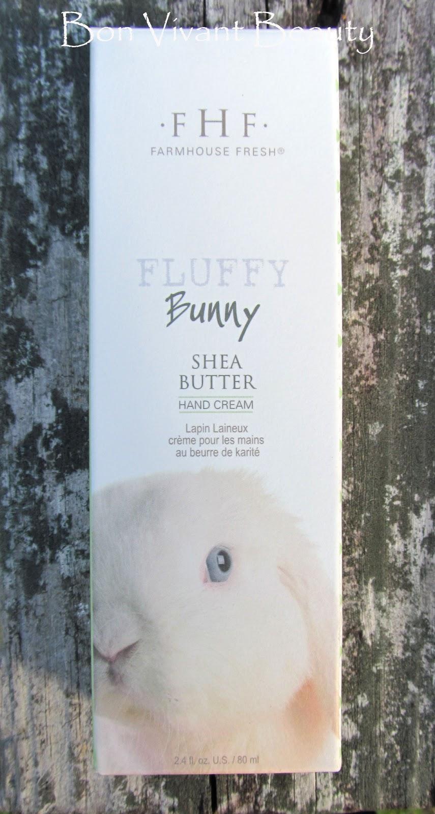 Bon Vivant Beauty Fluffy Bunny Shea Butter Hand Cream By Farmhouse Fresh
