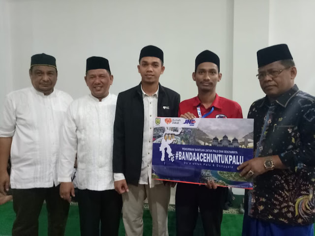 Walikota Banda Aceh Kirim Donasi untuk Palu Dan Donggala