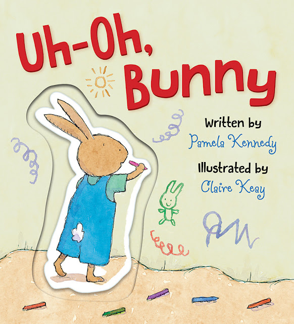 Uh Oh Bunny Board Book