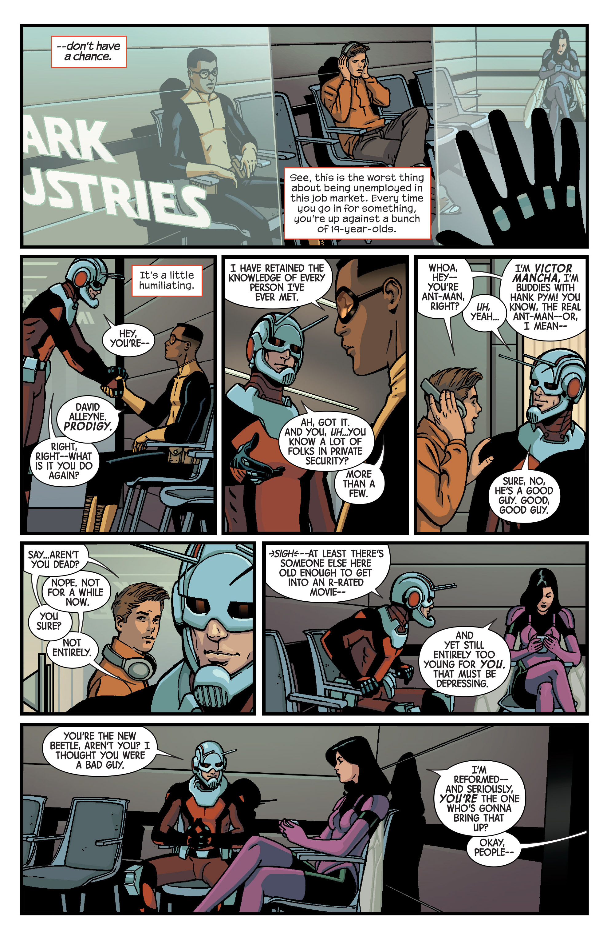 Read online Ant-Man comic -  Issue #1 - 19
