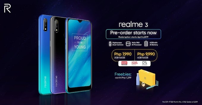 Realme 3 Opens Pre-Order Queue Today!