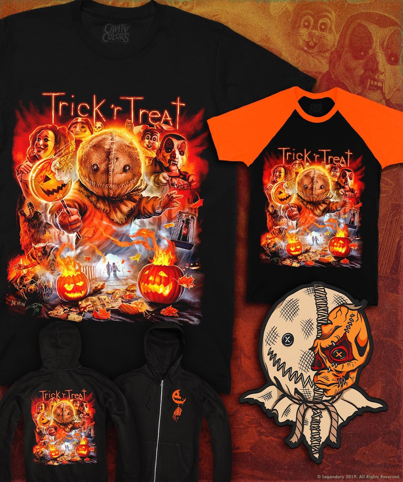 915febb3 The Horrors of Halloween: TRICK 'R TREAT Collection Part 1 by CAVITY ...