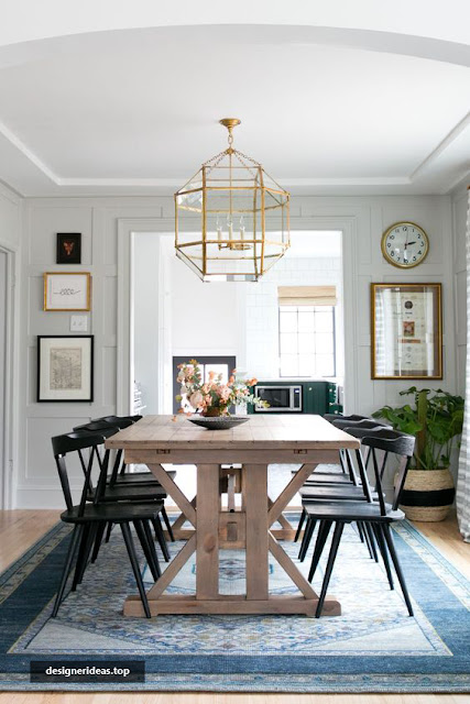 Best 5 Designs of Classic Dining Room, Pretty and Natural