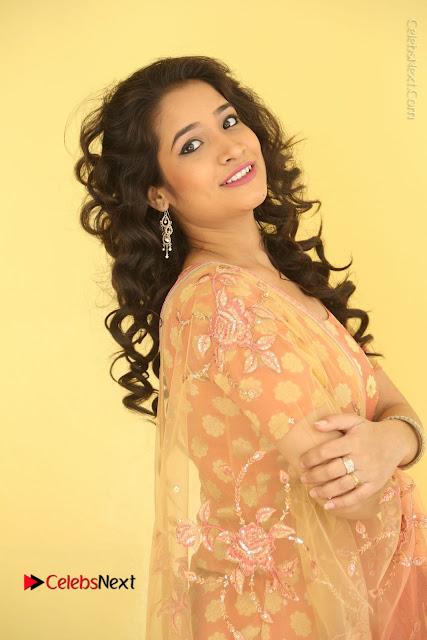 Telugu Actress Santoshi Sharma Latest Stills in Salwar Kameez at HBD Movie Teaser Launch  0012.JPG
