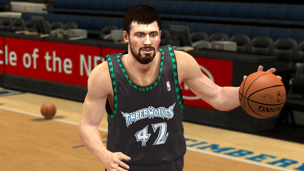 NBA 2K14 Kevin Love Face Mod