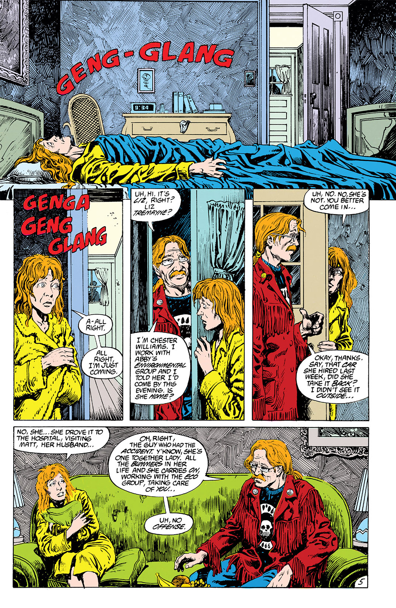 Swamp Thing (1982) Issue #63 #71 - English 5