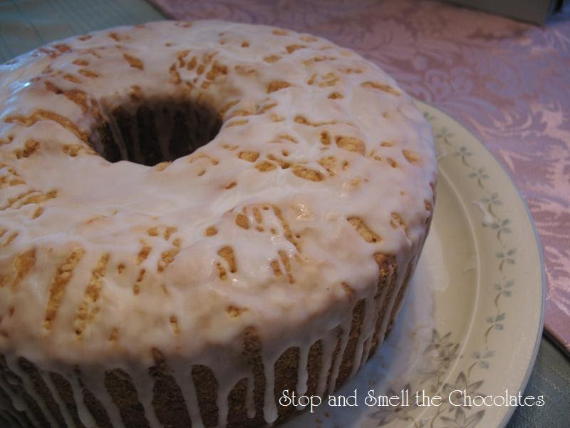 Stop And Smell The Chocolates Sour Cream Lemon Pound Cake