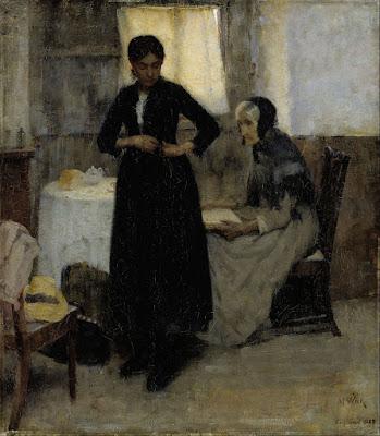Salida al Mundo (1889), Maria Wiik