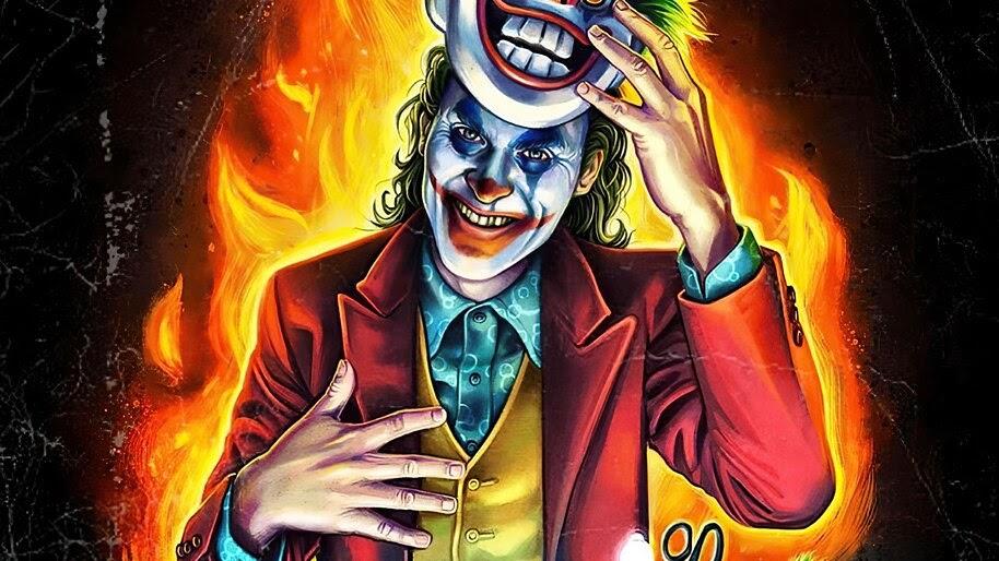 Joker, Mask, Movie, Art, 4K, #3.2277