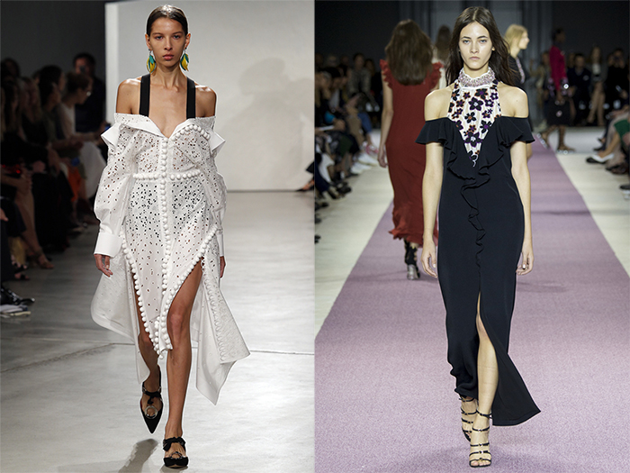 Spring 2016 Trends from Fashion Week Off the Shoulder