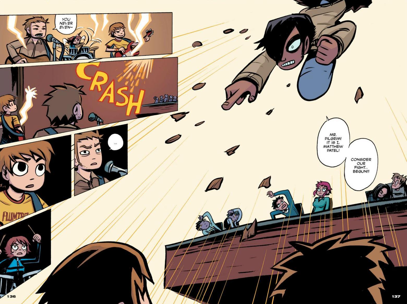 Read online Scott Pilgrim comic -  Issue #1 - 124