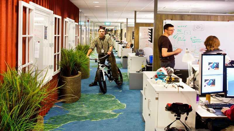 Suasana kerja di Google