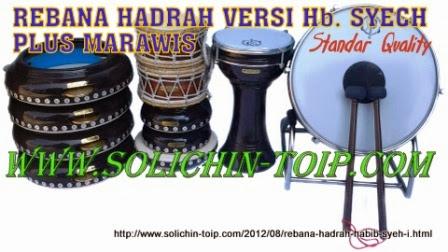Hadrah habib Syech standar plus Marawis isi 11