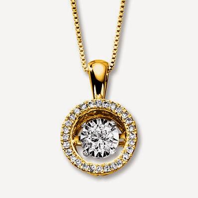 Kay Jewelers Moving Diamond Necklace