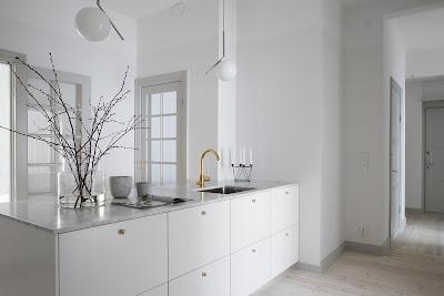 kuchyn ve skandinavskem stylu,