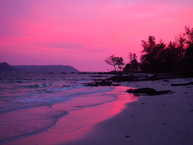 Sunset on Koh Rong, Cambodia