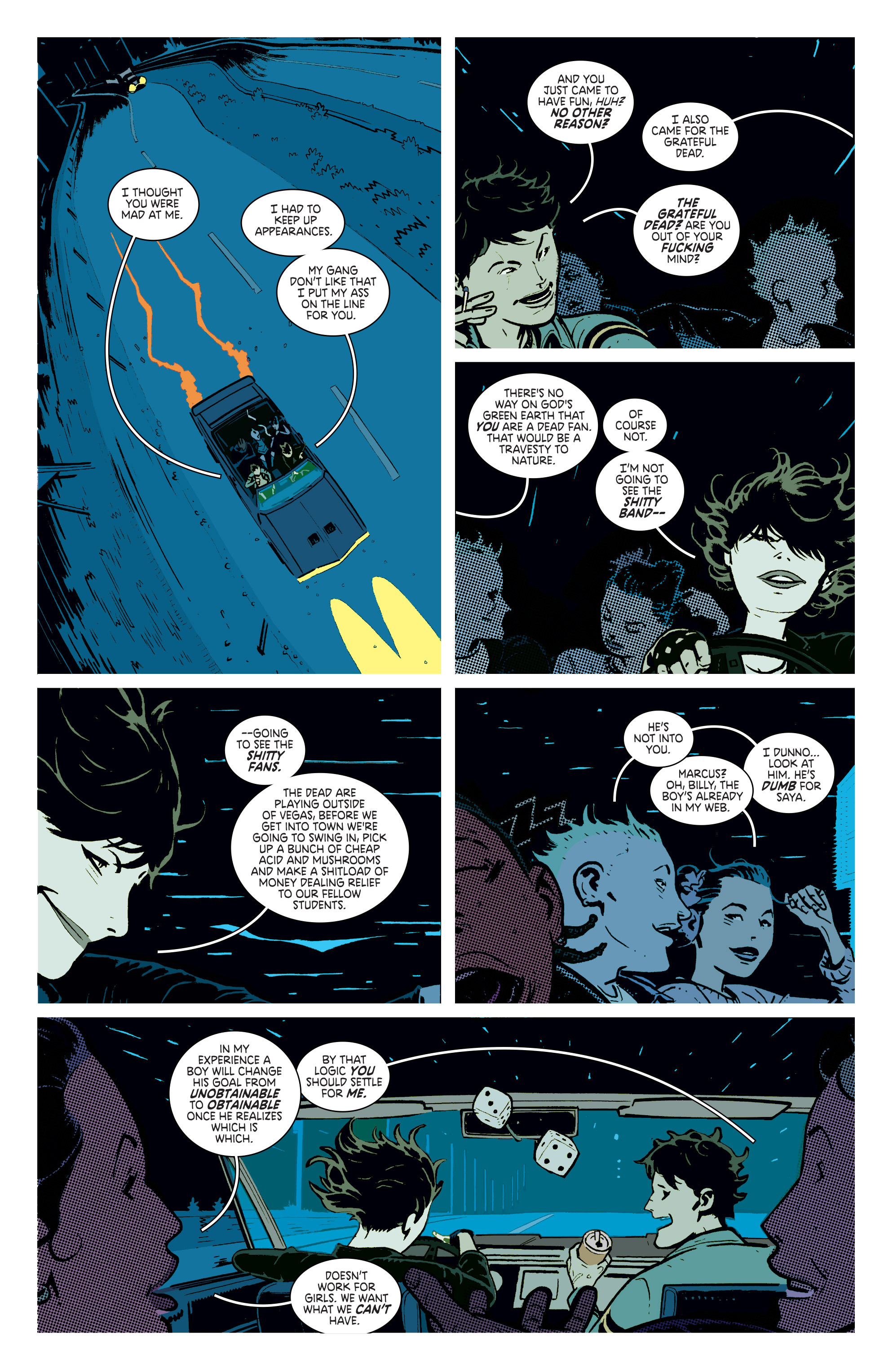 Read online Deadly Class comic -  Issue #4 - 12