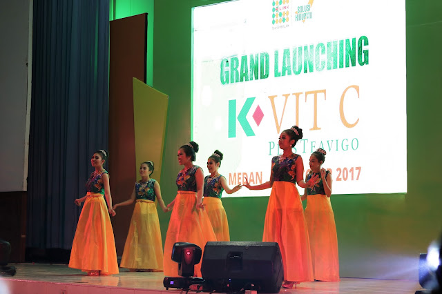 Grand Launching K-Vit C Plus Teavigo di Medan
