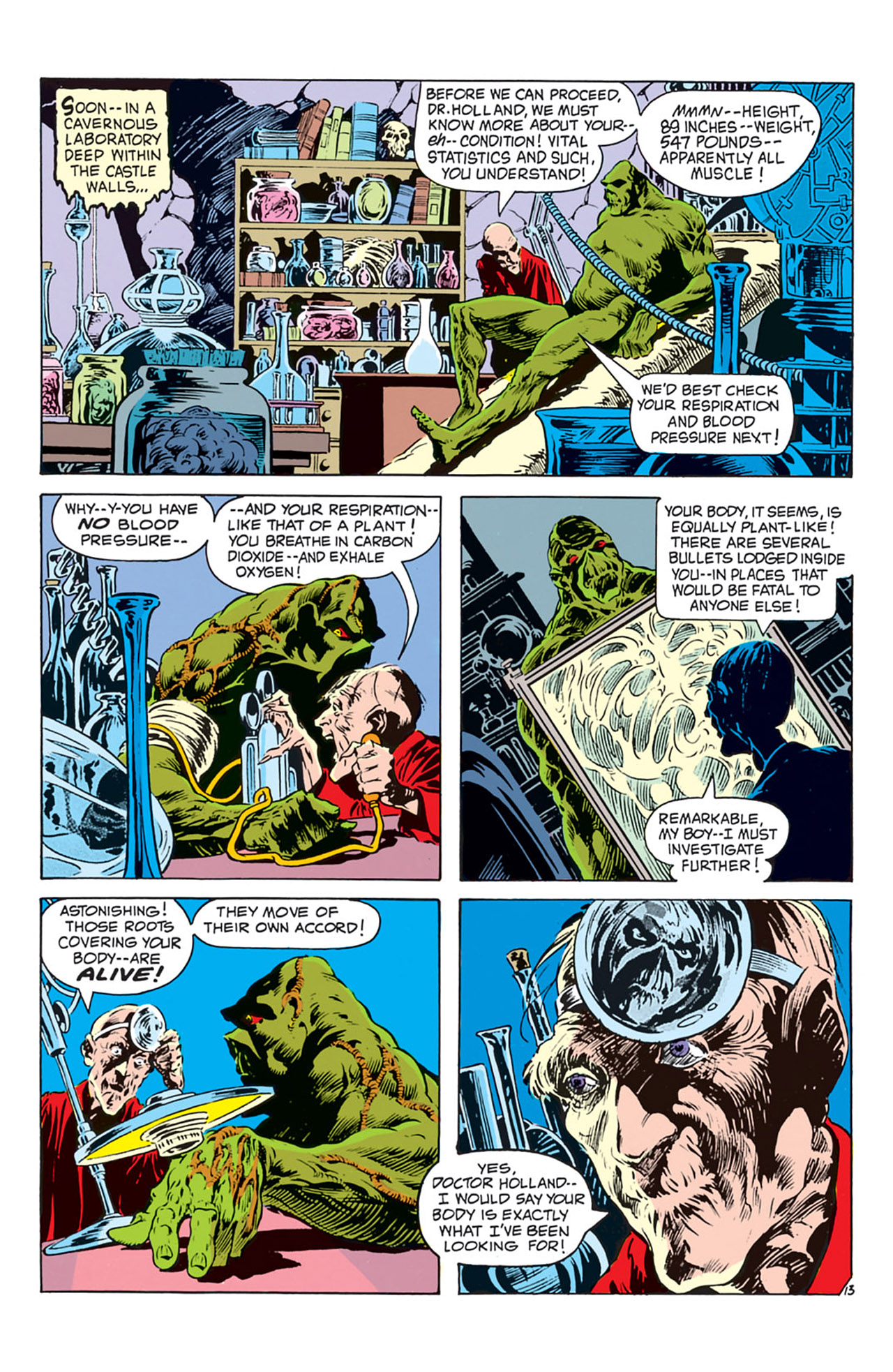 Swamp Thing (1972) Issue #2 #2 - English 14