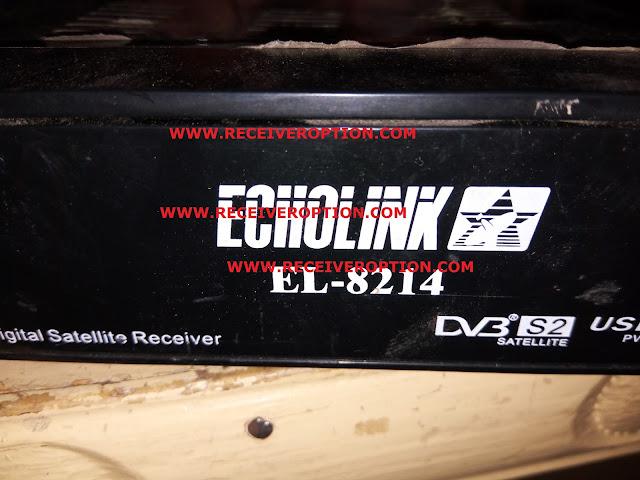ECHOLINK EL-8214 HD RECEIVER POWERVU KEY NEW SOFTWARE