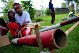 Permainan Bambu Betung
