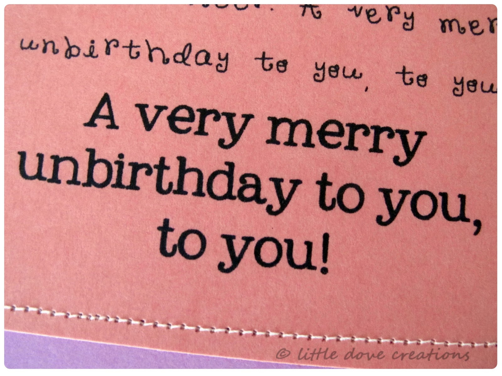 Merry un birthday printable little dove blog pretty simple but i think they turned out cute the fonts are cupcake alternative typewriter and my own topher all free downloads m4hsunfo