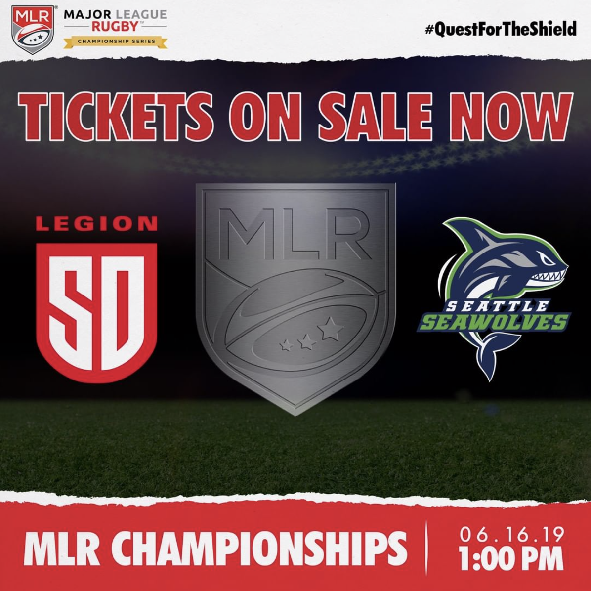 Don't Miss The Major League Rugby National Championship at University of San Diego - June 16!