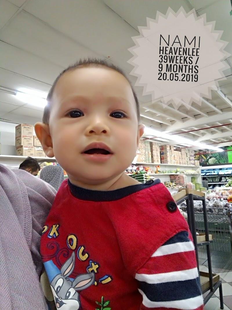 Nami Heavenlee || 9 bulan - demam lagi!