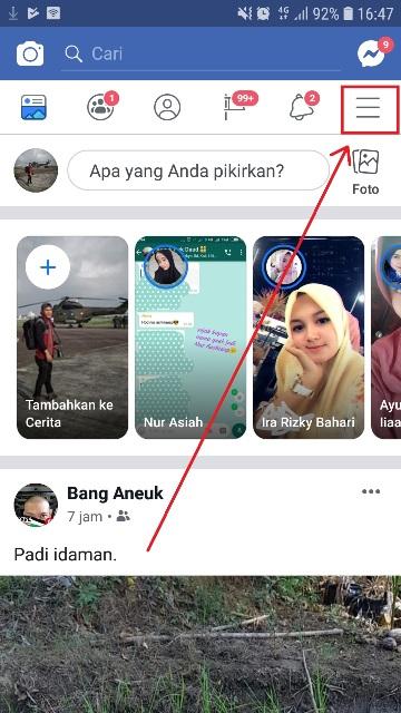 Cara Menghapus Halaman Di Facebook Lewat HP