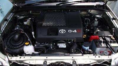Mesin Hilux 2,5 liter 2KD-FTV