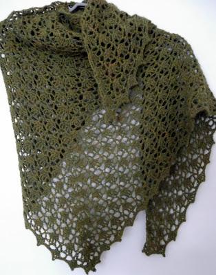 Mavivi tejiendo: Chal Elise