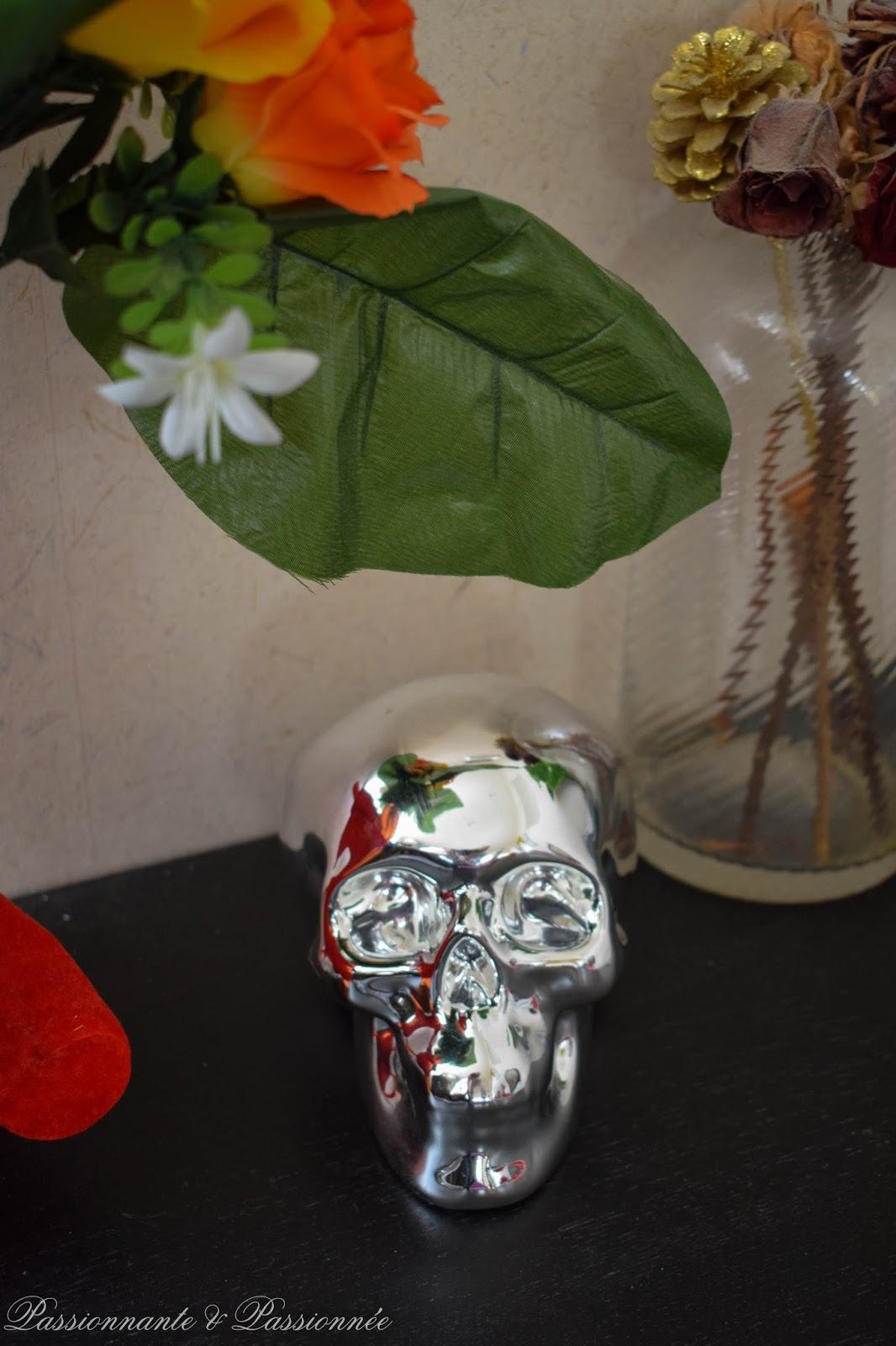 tête de mort décorative