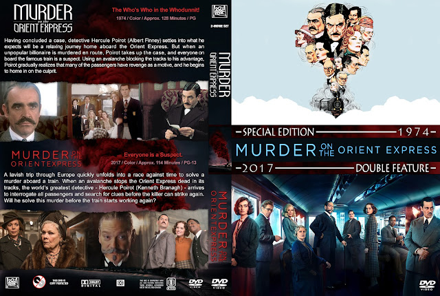 Murder On The Orient Express Collection DVD Cover