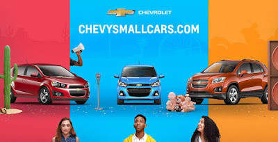 Chevrolet Launched A New Small Car Website