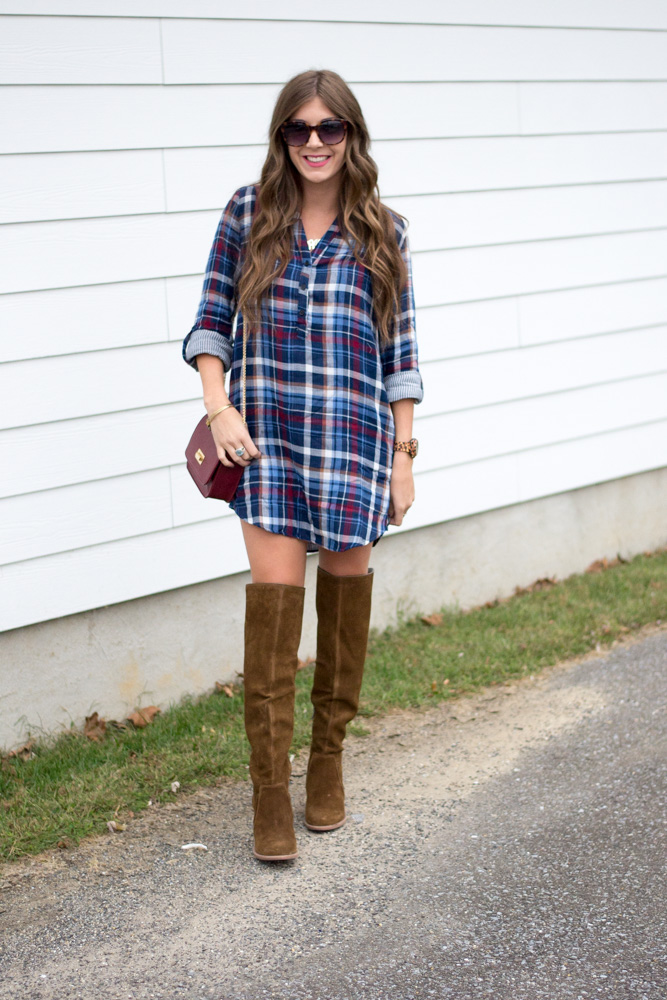 Plaid Dress Perfection