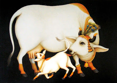 Cow Shakun Apshakun Shagun Apshagun