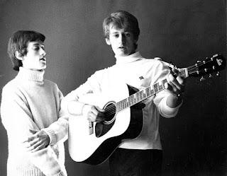 Rupert & David - Sound of Silence 1965 (first publicity photo of Rupert!)
