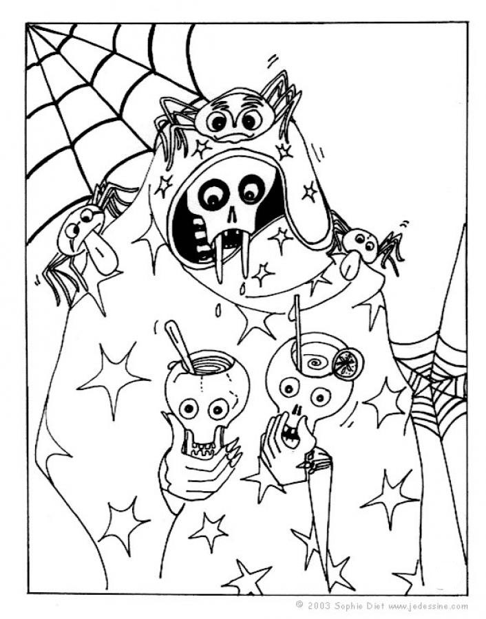 halloween coloring pages: September 2010