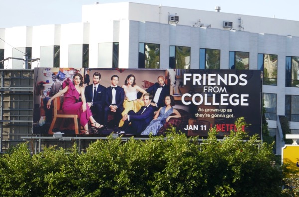 Friends from College season 2 billboard
