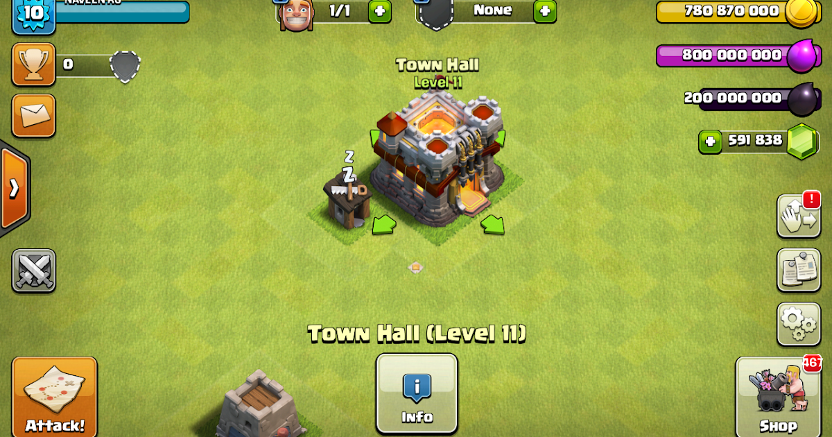 CLASH OF CLANS HACK MOD NAVEENRG@TECHSTANZ PRIVATE SERVER ...  CLASH OF CLANS ...