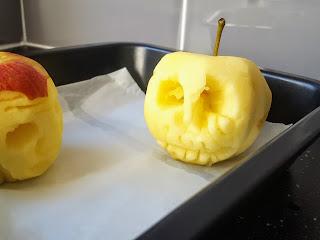 A Spooky Skull Inspired Halloween Shrunken Head