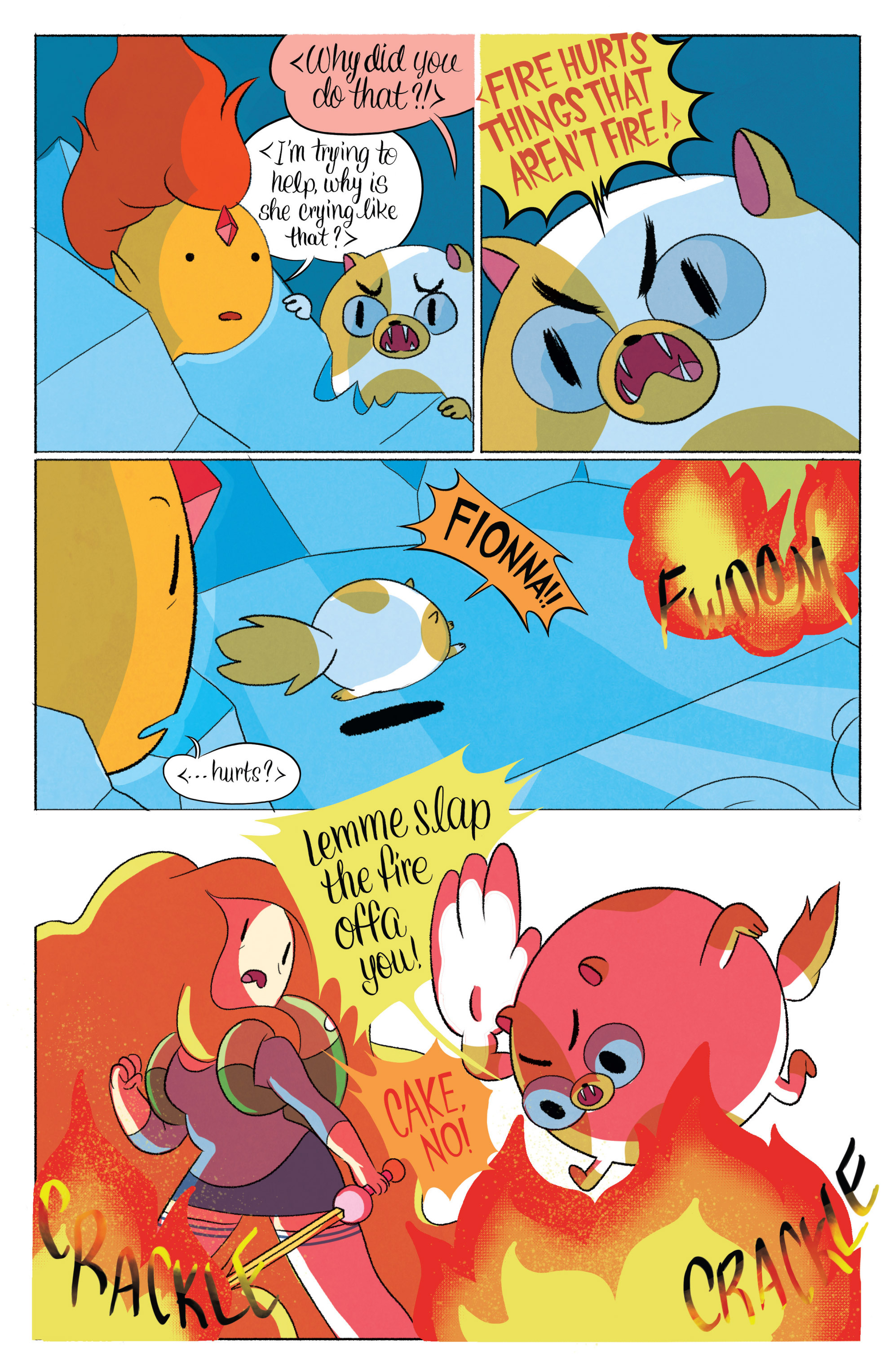 Read online Adventure Time with Fionna & Cake comic -  Issue #6 - 8